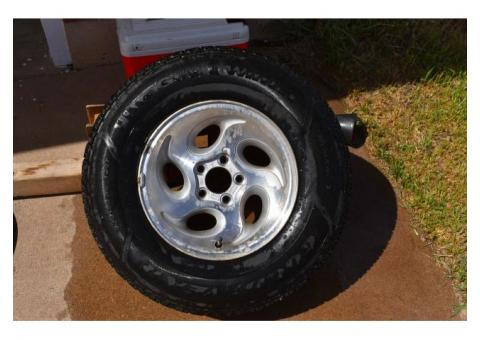 Tires and Wheels for Ford Explorer or Ranger