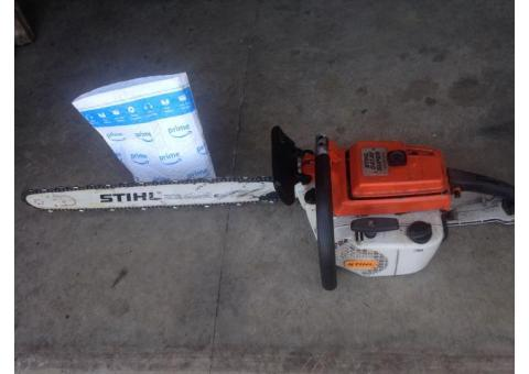 Stihl chainsaw 24 inch