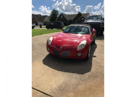 2007 Pontiac Solstice convertible for sale and ready to roll