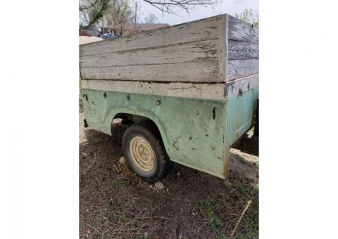 box trailer home made